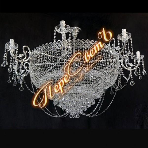 Люстра Сластена со свечами Шар