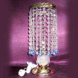 Настольная лампа Анжелика Шар 20 цветная