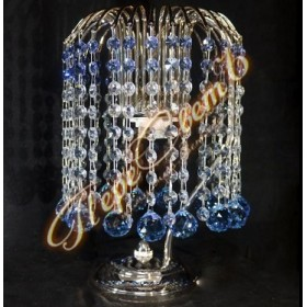 Настольная лампа Каскад Шар 30 цветной