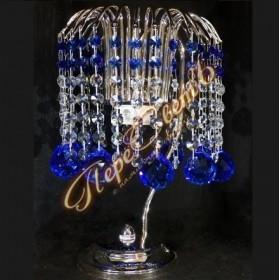 Настольная лампа Каскад Шар 40 цветной