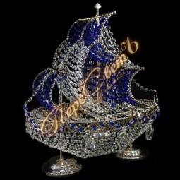 Настольная лампа Фрегат цветной
