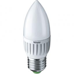 Светодиодная лампа Navigator NLL-С37 7W E27