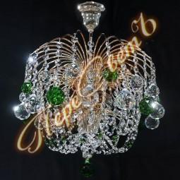 Люстра Брызги шампанского Оптикон Шар 30,40 цветная