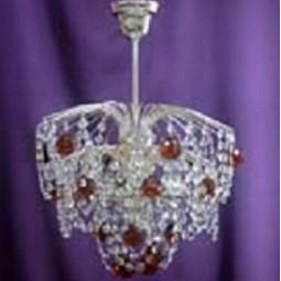 Люстра Брызги шампанского Шар 30 эконом цветная