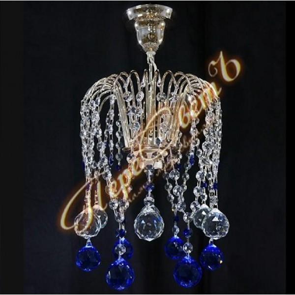 Люстра Каскад Ева Шар 40 цветной