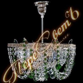 Люстра Ромашка Лепестки подвес 1 лампа цветная