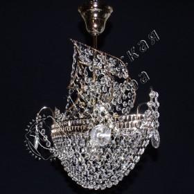 Люстра Корвет №1, 1 лампа