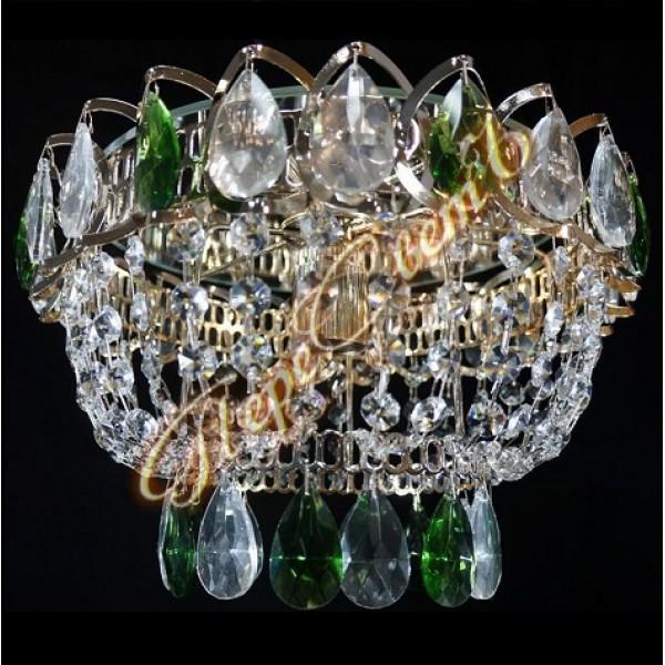 Люстра Катерина Оптикон 1 лампа цветная