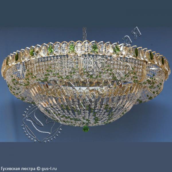Люстра Кольцо Купол 474 цветное