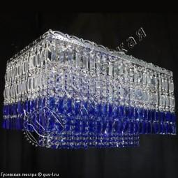 Капель прямоугольник Пластина Оптикон цветная