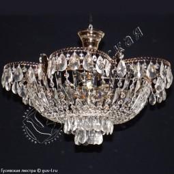 Люстра Ромашка 3 и 5 ламп с подвесом